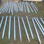 Геошурупи для монтажу каркасу для сонячних панелей