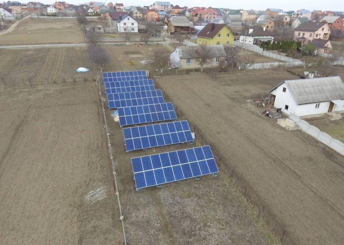 Сонячна електростанція 30 кВт під зелений тариф в с.Колоденка, Рівненської області