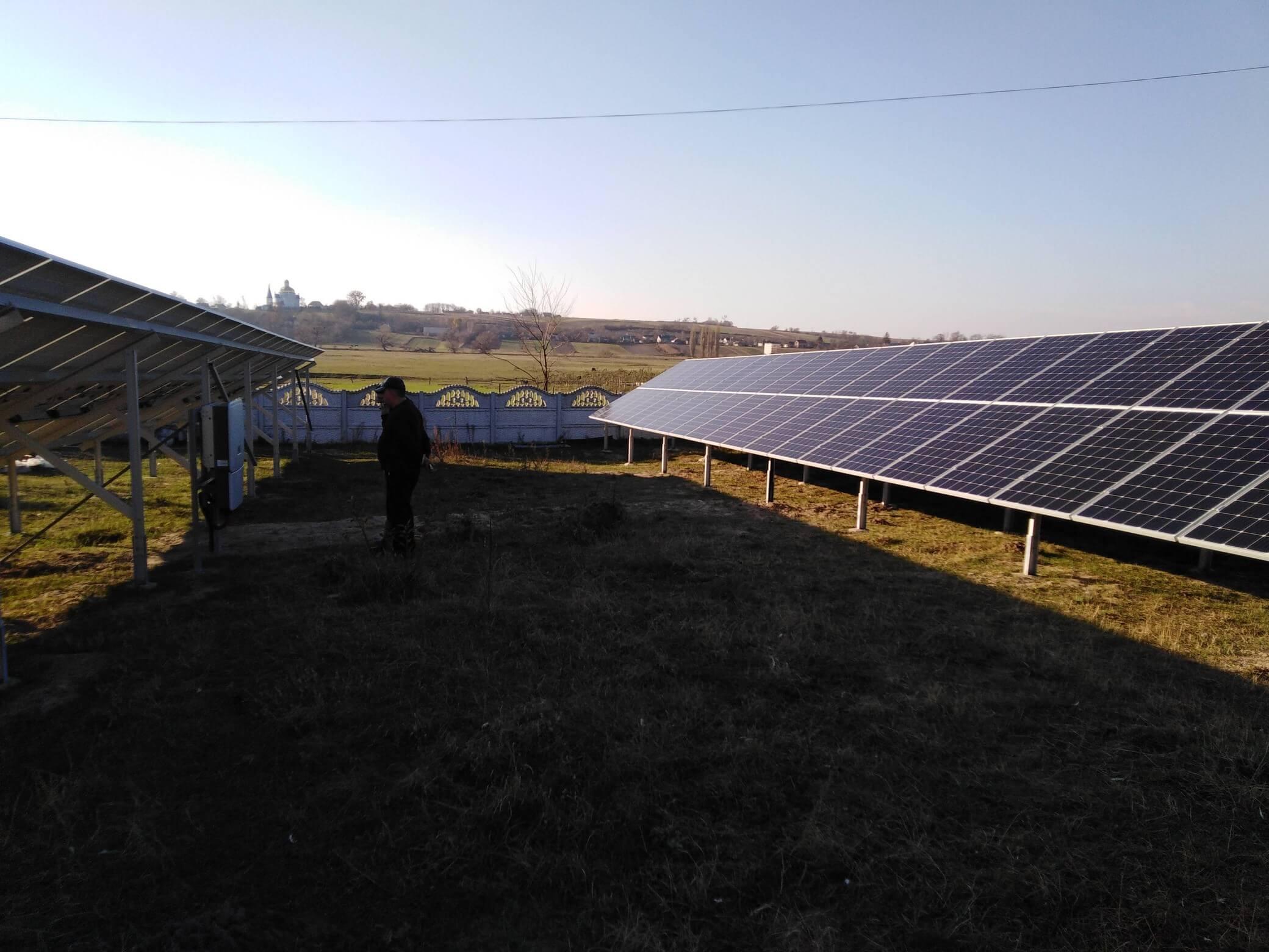 Сонячна електростанція 30 кВт, с.Микулин, Гощанський район, Рівненська область