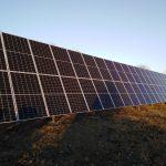 Сонячна електростанція 30 кВт зі змінним кутом