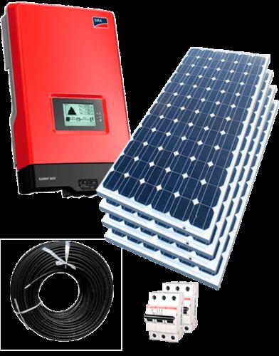 Сонячна електростанція 5кВт 01.07.2019