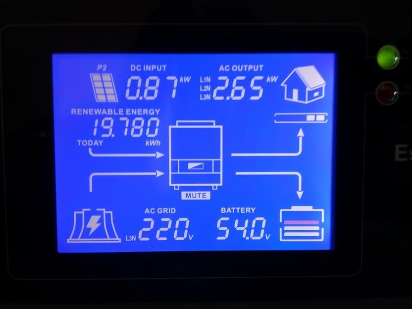 Гібридний інвертор Imeon Energy 9.12