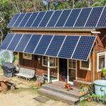 Приклад автономної сонячної електростанції для дачі