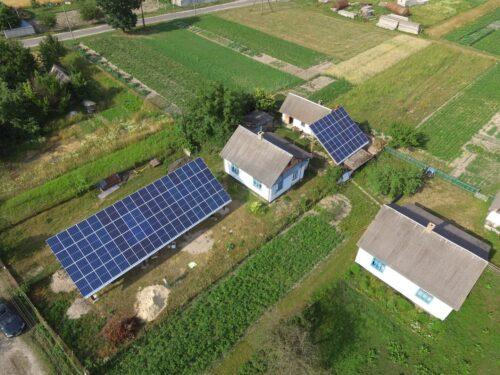 Сонячна електростанція під зелений тариф, Костопіль, 30 кВт